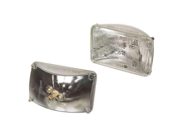 FBS - Osram/Sylvania Basic Halogen Sealed Beam Bulb - Headlight 55w - B2C W0133-1637800-OSR