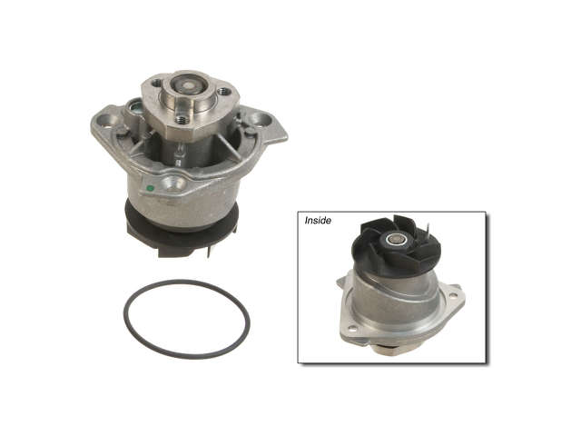 ES#1999714 - 95510601100 - Water Pump - Water pump housing and impeller with o-ring - Laso - Porsche