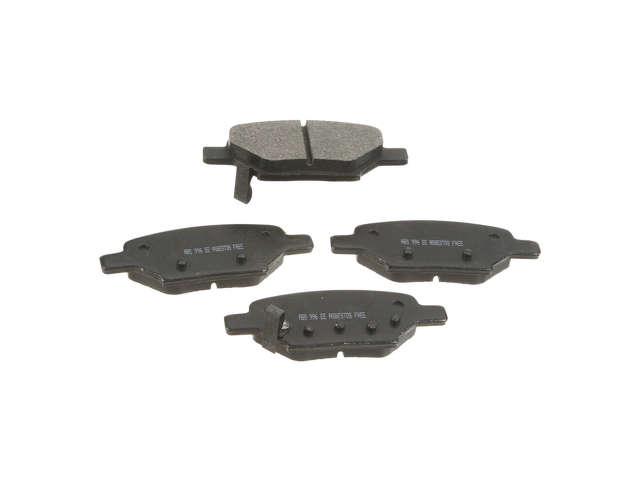 FBS - NPN Premium Brake Pad Set Organic w/o Shims (Rear) - B2C W0133-1775126-NPN