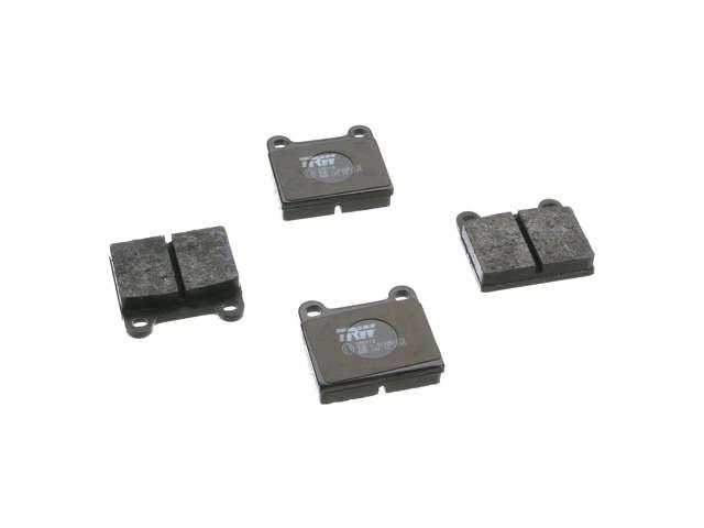 FBS - TRW OE Replacement Brake Pad Set w/ Shims (Rear) - B2C W0133-1794711-TRW