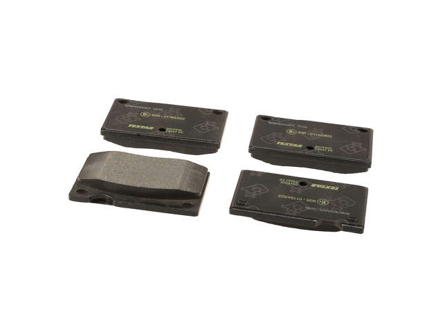 FBS - Textar OE Replacement Brake Pad Set w/ Shims (Front) - B2C W0133-1796089-TEX