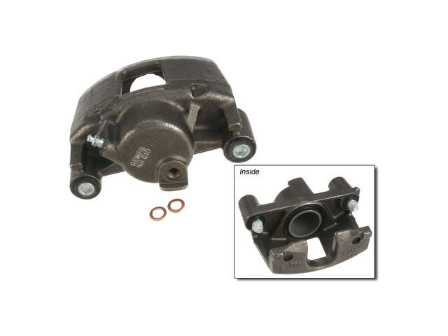 FBS - Cardone Remanufactured Brake Caliper Unloaded w/o Bracket - B2C W0133-1808108-CAR