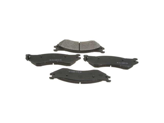 FBS - NPN Premium Brake Pad Set Organic w/o Shims (Front) - B2C W0133-1815813-NPN