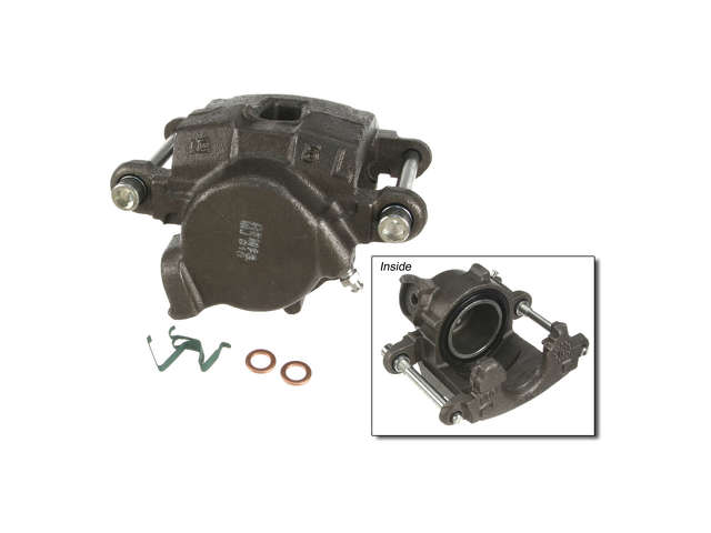 FBS - Cardone Remanufactured Brake Caliper Unloaded w/o Bracket - B2C W0133-1819898-CAR