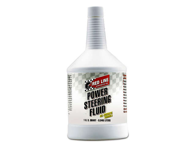 FBS - Red Line Conventional Mineral Power Steering Fluid P/S Fluid - 1 Quart - B2C W0133-1841080-RED