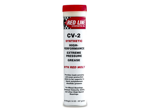 FBS - Red Line Chemical Item CV Joint Grease CV-2 Grease 14oz Tube - B2C W0133-1841090-RED
