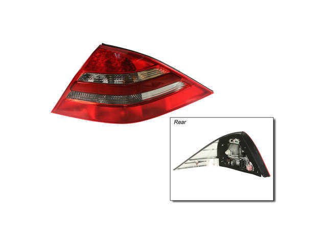Mercedes a 2158200264 tail light assembly right cl w215 for Mercedes benz tail light lens