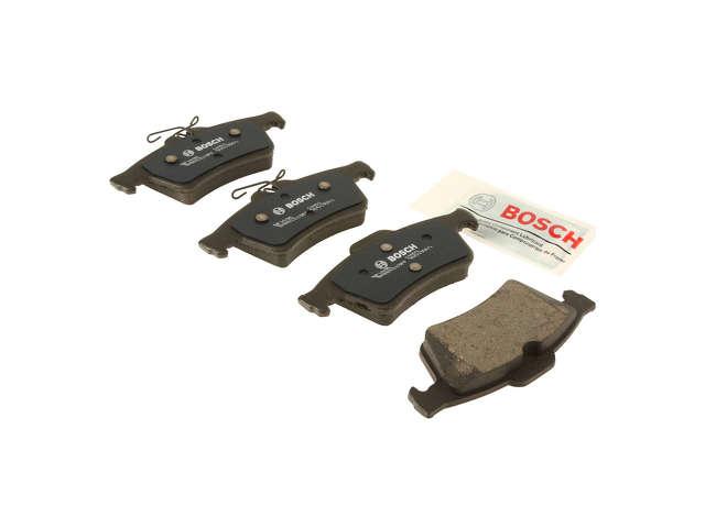 FBS - Bosch QuietCast Premium Brake Pad Set w/Wire Spring Clip - B2C W0133-1957926-BOS