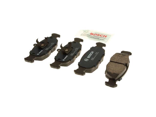 FBS - Bosch Quiet Cast Ceramic w/Hardware Brake Pad Set and Shims - B2C W0133-1958267-BOS