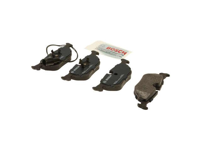 FBS - Bosch QuietCast Premium Brake Pad Set w/ Shims - B2C W0133-1958407-BOS