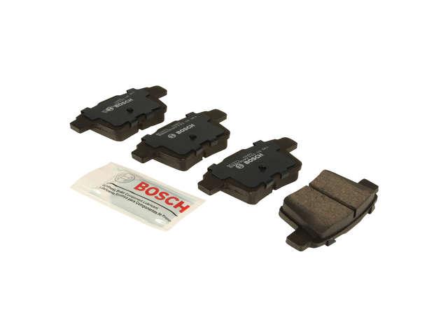 FBS - Bosch Quiet Cast Ceramic w/Hardware Brake Pad Set and Shims - B2C W0133-1958669-BOS