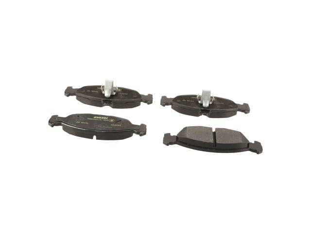 FBS - Textar OE Formulated Brake Pad Set w/ Shims - B2C W0133-2088535-TEX