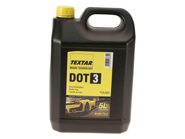FBS - Textar Chemical Item Brake Fluid DOT 3 - 5 Liter - B2C W0133-2214557-TEX