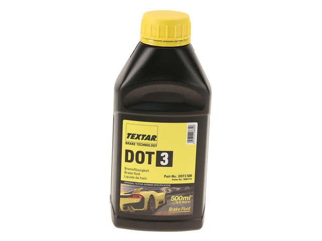 FBS - Textar Chemical Item Brake Fluid DOT 3 - 500ML - B2C W0133-2214558-TEX