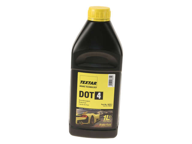 FBS - Textar Chemical Item Brake Fluid DOT 4 - 1 Liter - B2C W0133-2214563-TEX