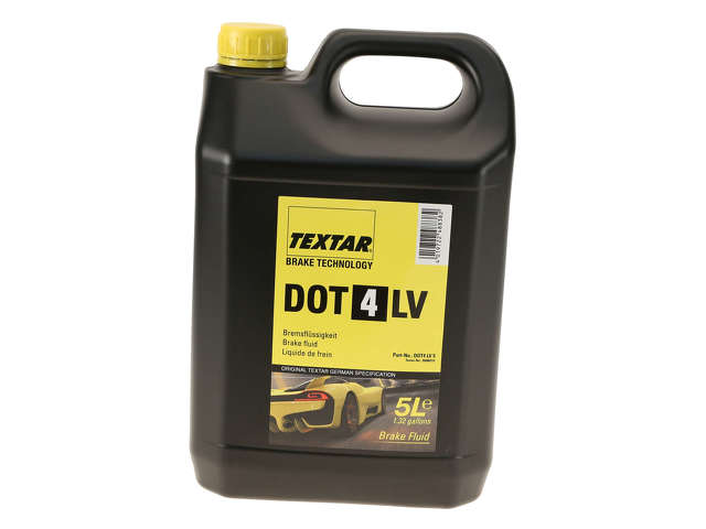 FBS - Textar Chemical Item Brake Fluid DOT 4 LV - 5 Liter - B2C W0133-2214565-TEX