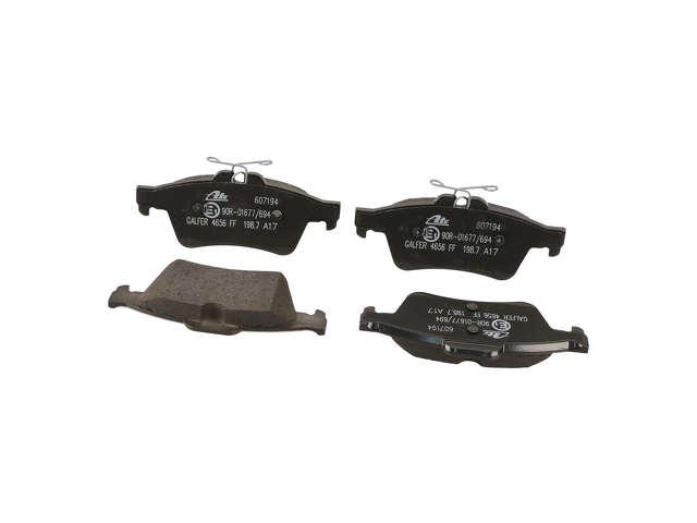 FBS - ATE Original OE Replacement Brake Pad Set w/ Shims - B2C W0133-2390245-ATE