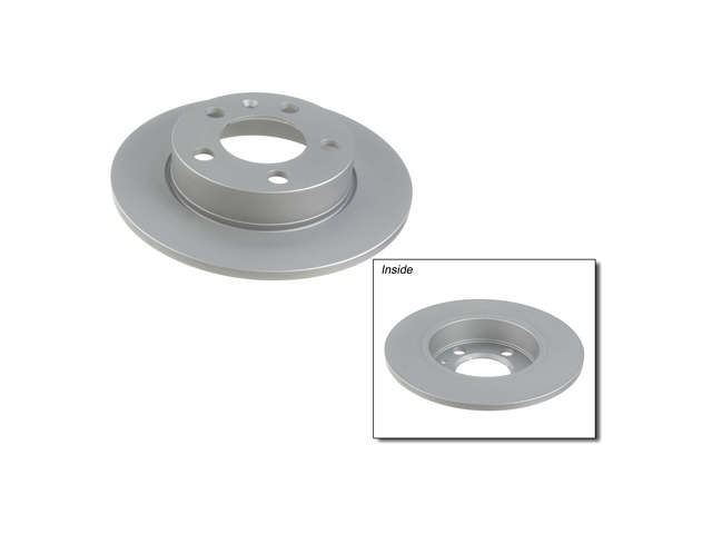 FBS - Zimmermann Coat-Z Anti-Corrosion Brake Disc - B2C W0133-2537675-ZIC