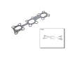 01/03 -  Nissan Maxima 3.5 SL VQ35DE Ishino Exhaust Manifold Gasket border=