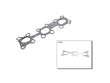 01/03 -  Nissan Maxima 3.5 SL VQ35DE Ishino Exhaust Manifold Gasket border=