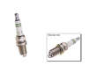 Bosch Spark Plug for Nissan 300ZX 2 2 Coupe