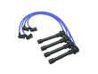 09/97 - 06/00 Nissan Frontier 4WD 4-cyl. KA24DE NGK Spark Plug Wires border=