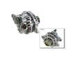 09/98 -  Nissan Quest 3.3 VG33E  Alternator border=