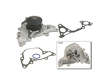 95-97 Chrysler Cirrus LX V6 2.5 V6 2.5 GMB Water Pump border=