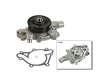 97-03 Dodge Dak Ex 4W V6 3.9 V6 3.9 Bosch Water Pump border=