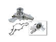 95-96 Ford Explorer 4WD E/Baur V6 4.0 Bosch Water Pump border=