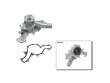 95-96 Ford Explorer 4WD E/Baur V6 4.0 GMB Water Pump border=