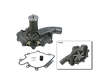 80-85 Buick Riviera V8 5.0 V8 5.0 GMB Water Pump border=