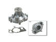 98-03 Jaguar V8 XJ Series 4.0 Aftermarket Water Pump border=