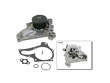 01/90 - 05/95 Toyota MR2 Non-Turbo 5SFE GMB Water Pump border=