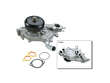 02-06 Cadillac Escalade AWD V8 6.0 V8 6.0 GMB Water Pump border=
