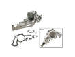10/94 - 08/97 Lexus LS400 V8 1UZFE GMB Water Pump border=