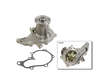 08/89 - 05/91 Toyota Corolla 2Dr Coupe 4AFE Bosch Water Pump border=