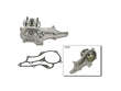 08/88 - 01/95 Toyota Pickup I4 4WD RegCab 22RE Bosch Water Pump border=