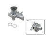 06/92 - 07/97 Toyota Corolla 4Dr Sedn 1.8 7AFE1.8 NPW Water Pump border=