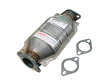 07/83 - 01/89 Nissan 300ZX 2+2 VG30E DEC Catalytic Converter border=
