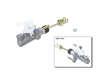 07/01 - 12/05 Toyota Camry V6 Sedan 1MZFE PBR Clutch Master Cylinder border=