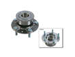 - 06/00 Mazda Millenia 2.5 V6 2.5DOHC Timken Wheel Hub Assembly border=