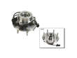 - 02 Cadillac Escalade EXT AWD V8 6.0 FEQ Wheel Hub Assembly border=