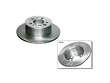 83-84 Volvo 240 B23 Brembo Brake Rotors border=