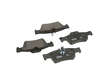 04-06 Mercedes Benz E 500 Wagon 4-Matic 113.969 Textar Ceramic Brake Pads border=