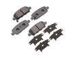 11/04 -  Infiniti G35 3.5 Coupe VQ35DE Akebono Brake Pads border=