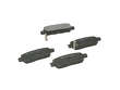 08/04 - 10/04 Infiniti G35 3.5 Coupe VQ35DE PBR Brake Pads border=