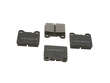 86-91 Mercedes Benz 560SEC 117.968 NPN Brake Pads border=