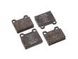86-91 Mercedes Benz 560SEC 117.968  Brake Pads border=