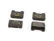 86-91 Mercedes Benz 560SEC 117.968 Textar Brake Pads border=